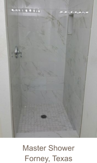 Master Shower Forney, Texas