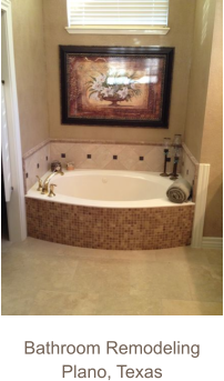 Bathroom Remodeling Plano, Texas
